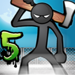 Anger of stick 5 zombie APK MOD Unlimited Money 1.1.7