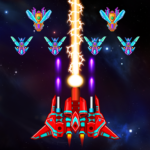 Galaxy Attack Alien Shooter APK MOD Unlimited Money 8.10
