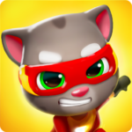 Talking Tom Hero Dash – Run Game APK MOD Unlimited Money 1.1.4.617