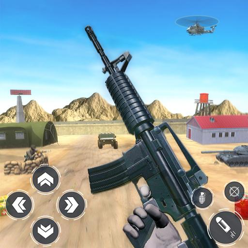 Army Commando Gun Game Gun Shooting Games APK MOD Unlimited Money 1.1