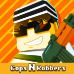 Cops N Robbers – 3D Pixel Craft Gun Shooting Games APK MOD Unlimited Money 9.0.9