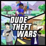 Dude Theft Wars Open World Sandbox Simulator BETA APK MOD Unlimited Money 0.84b