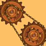 Steampunk Idle Spinner cogwheels and machines APK MOD Unlimited Money 1.8.4