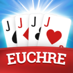 Euchre Free Classic Card Games For Addict Players MOD Unlimited Money 3.1.10
