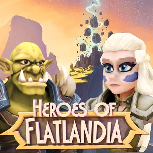 Heroes of Flatlandia APK MOD Unlimited Money