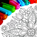 Mandala Coloring Pages MOD Unlimited Money 12.9.2