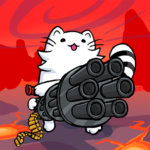 One Gun Battle Cat Offline Fighting Game MOD Unlimited Money 1.54