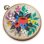 Cross Stitch Club Sewing by Number with a Hoop MOD Unlimited Money 1.4.4.1