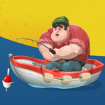 Larry Fishing Quest Idle Fishing Game MOD Unlimited Money