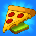 Merge Pizza Best Yummy Pizza Merger game 1.0.79 MOD Unlimited Money