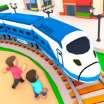 Idle Sightseeing Train – Game of Train Transport MOD Unlimited Money