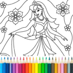 Princess Coloring Game 13.9.6 MOD Unlimited Money