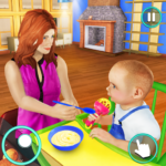 New Baby Single Mom Family Adventure 1.0.8 MOD Unlimited Money