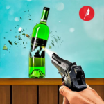 Real Bottle Shooting Free Games 3D Shooting Games 3.2 MOD Unlimited Money
