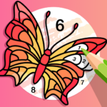 Fun Color Color By Number Pages Paint Happy 3.0.1 MOD Unlimited Money