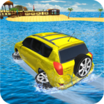 Water Surfer Jeep Cars Race on Miami Beach 1.5 MOD Unlimited Money
