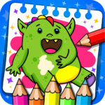 Fantasy – Coloring Book Games for Kids 1.18 MOD Unlimited Money