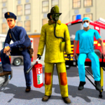 FireFighter Emergency Rescue Game-Ambulance Rescue 3.1 MOD Unlimited Money