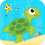 Learn Sea World Animal Game-Name Puzzle Colouring 1.6 MOD Unlimited Money