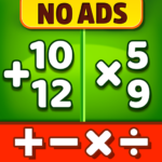 Math Games – Addition Subtraction Multiplication 1.0.1 MOD Unlimited Money