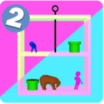 Pull Right The Pin – Rescue 0.2 MOD Unlimited Money