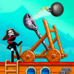 The Catapult Castle Clash with Awesome Pirates 1.2.5 MOD Unlimited Money
