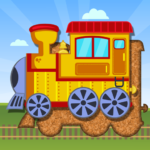 Trains Jigsaw Puzzles for Kids 3.6 MOD Unlimited Money
