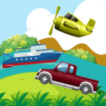 Transportations for Kids 1.0 MOD Unlimited Money