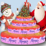 Yummy Merry Christmas Party Cake – Girls Games 1.5 MOD Unlimited Money