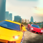 Curved Highway Car Racer Game 1.0.6 MOD Unlimited Money
