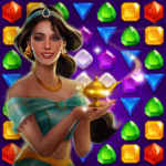 Genies Gold – Match 3 Jewel Gem Adventure 1.2.4 MOD Unlimited Money