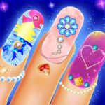 Nail Salon Fashion Game Manicure pedicure Art Spa 1.5 MOD Unlimited Money