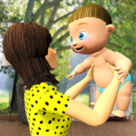 New Virtual Mother Life Simulator- Baby Care Games 1.3 MOD Unlimited Money