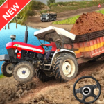 Offroad Tractor Trolley Drive Farming Simulator 1.6 MOD Unlimited Money