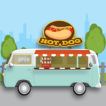 Open a Hot Dog Stand Mystery Game 1.2.7 MOD Unlimited Money