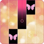 Pink Piano Tiles butterfly Game 2020 2 MOD Unlimited Money