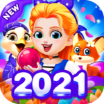 Bubble Shooter – save little puppys 1.0.46 MOD Unlimited Money