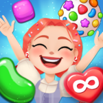Candy Go Round – 1 Free Candy Puzzle Match 3 Game 1.5.1 MOD Unlimited Money