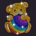 Diamond Coloring – Sequins Art Paint by Numbers 1.3.6 MOD Unlimited Money