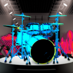 Drum Hero rock music game tiles style 2.4.1 MOD Unlimited Money
