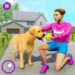 Family Pet Dog Home Adventure Game 1.2.1 MOD Unlimited Money