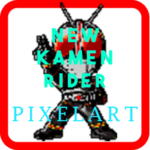 New Kamen Rider – Pixel Art 5.0 MOD Unlimited Money