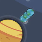 Orbity – Free Space Casual Planets Jump 1.0.2 MOD Unlimited Money