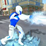 Snow Storm Super Human Flying Ice Superhero War 1.0.3 MOD Unlimited Money