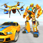 Drone Robot Car Game – Robot Transforming Games 1.2.3 MOD Unlimited Money