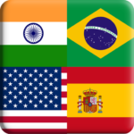Flags Quiz Gallery Quiz flags name and color Flag 1.0.184 MOD Unlimited Money
