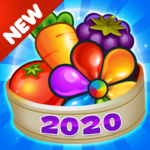 Garden Blast New 2020 Match 3 in a Row Games Free 2.1.4 MOD Unlimited Money