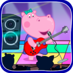 Kids music party Hippo Super star 1.1.9 MOD Unlimited Money