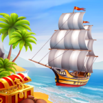 Pocket Ships Tap Tycoon Idle Seaport Clicker 0.5.5 MOD Unlimited Money