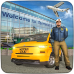 Real Taxi Airport City Driving-New car games 2020 1.8 MOD Unlimited Money